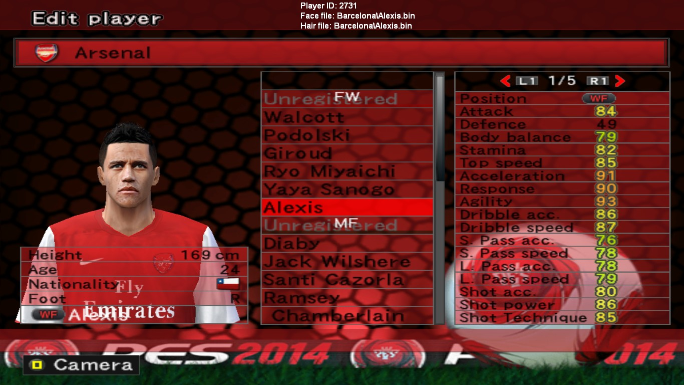 PES 6 update Option File season 2014/2015 FINAL TRANSFER