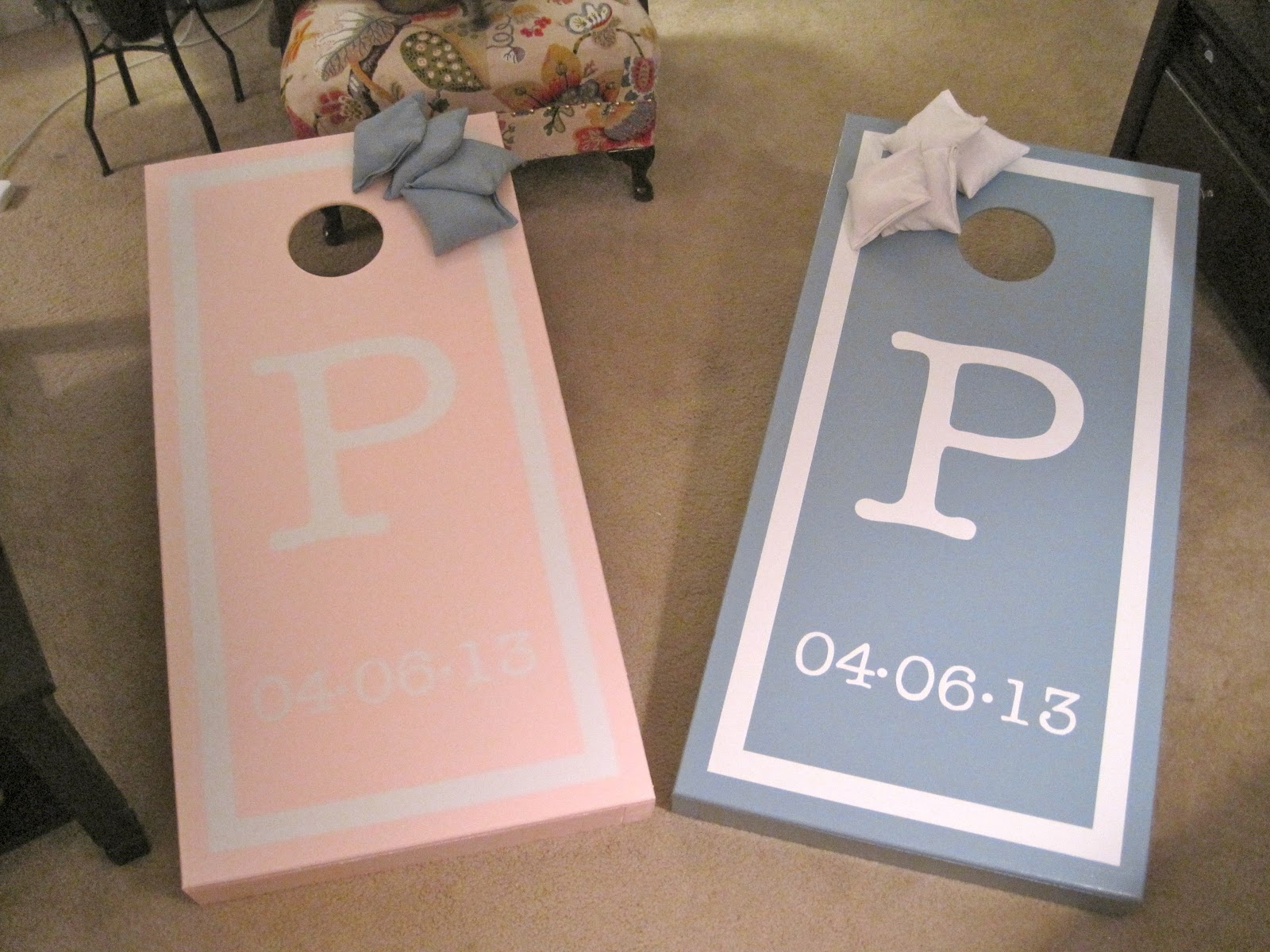 Beautiful Adventure: Wedding Cornhole Boards ♥