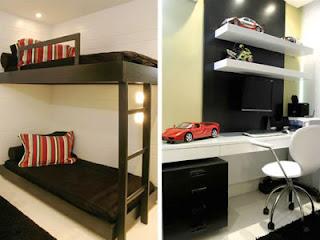 fotos de quartos masculinos decorados