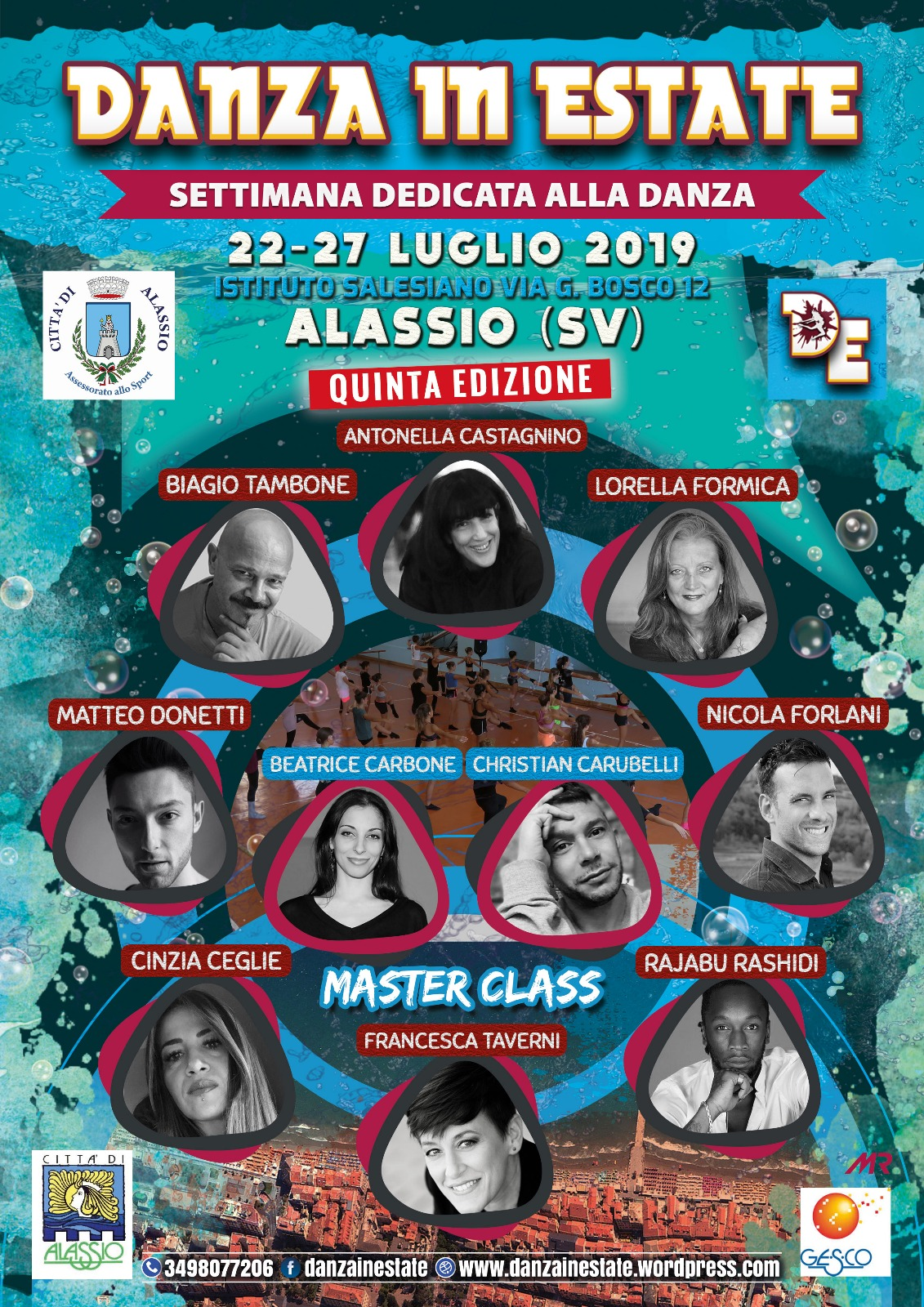 DANZA IN ESTATE 2019 (BANDO STAGE)