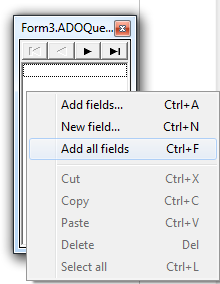 Menampilkan Tipe Data Text (Memo) di DBGrid Delphi