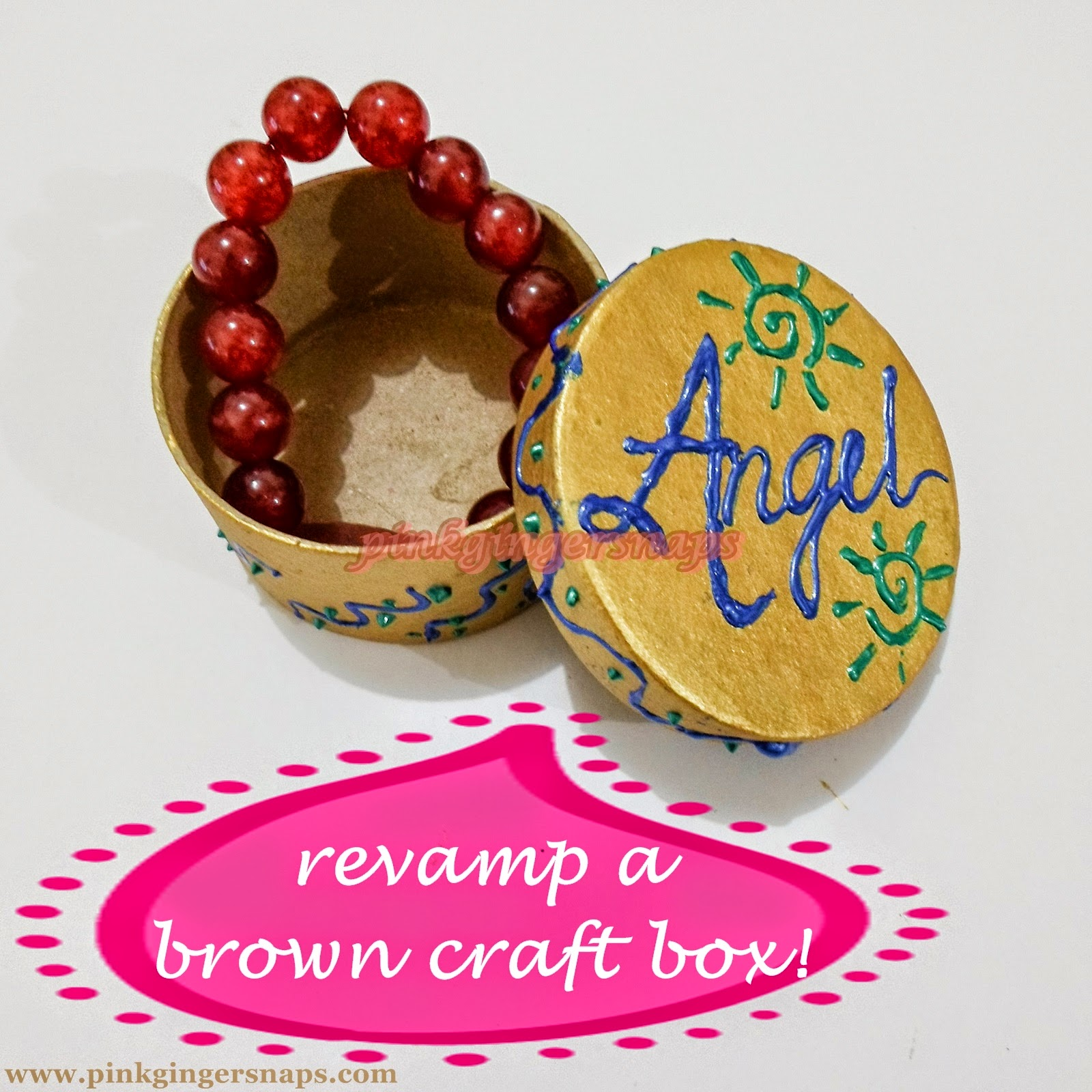 recycling craft box