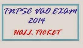VAO Hall Ticket