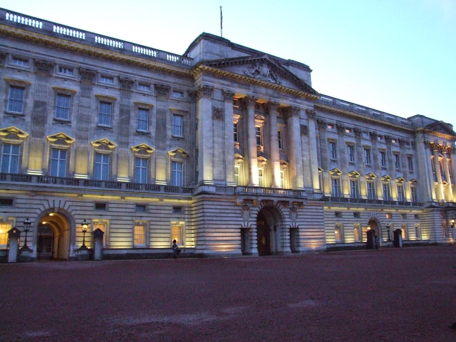 Pałac Buckingham.
