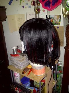 bob hairstyle back