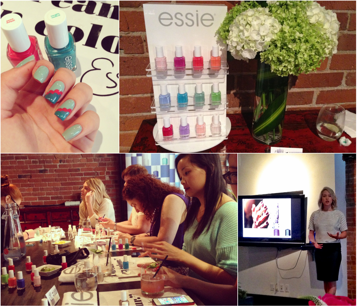 Scalloped Nail Art Tutorial featuring Essie 2014 Neon Collection