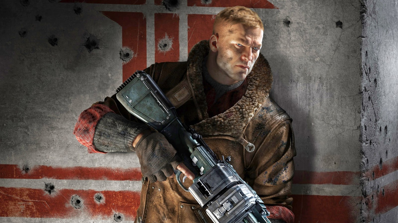 wolfenstein the new order game hd wallpaper covers heat