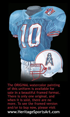 Tennessee Oilers 1997 uniform - Tennessee Titans 1997 uniform