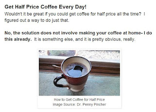 Get Half-Price Coffee Every Day!