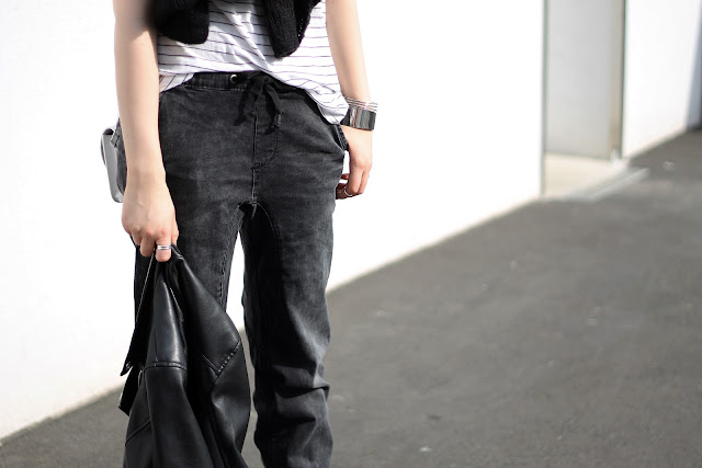 jogging jeans style