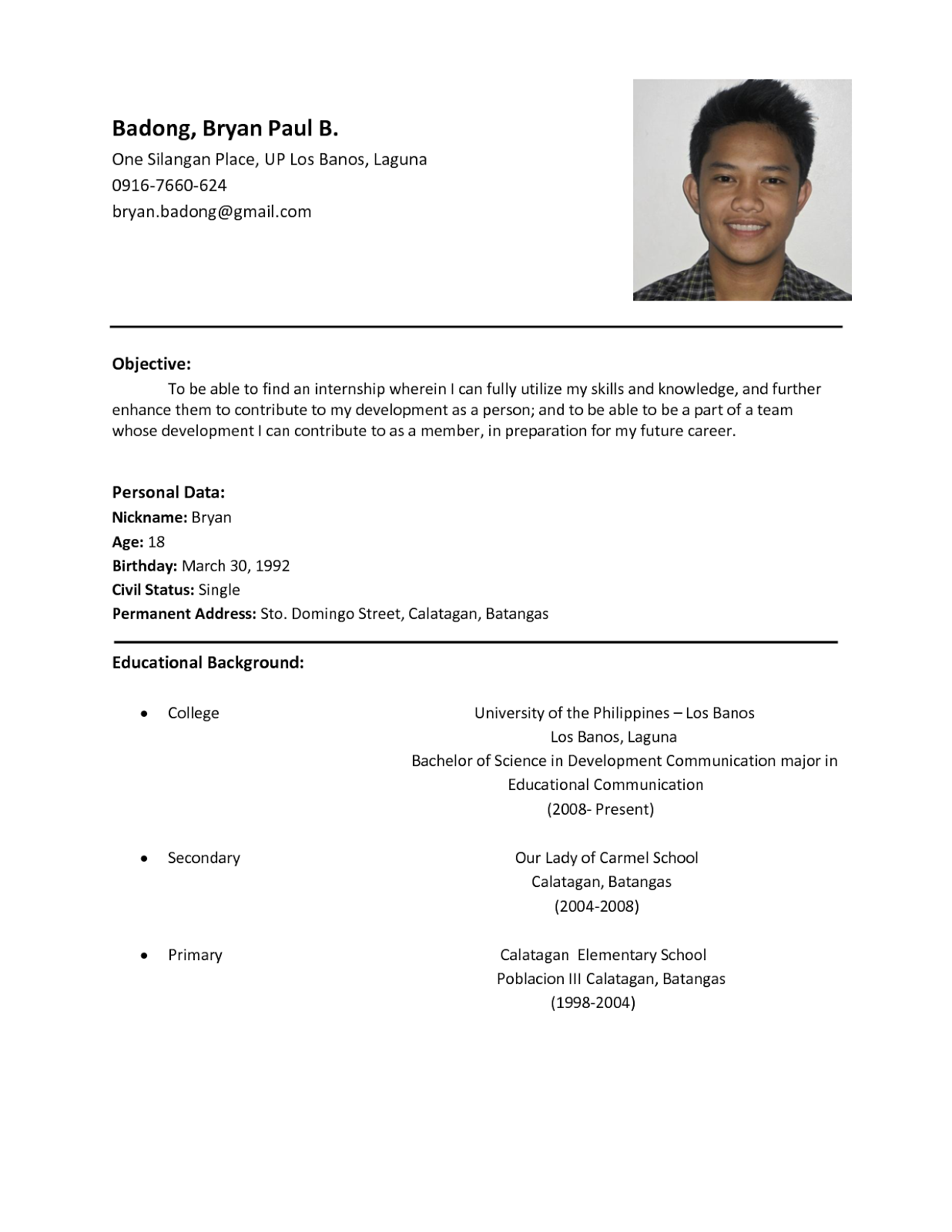 basic resume examples for students gana dinero internet fascinating simple resume example examples resumes - Basic Resumes Examples