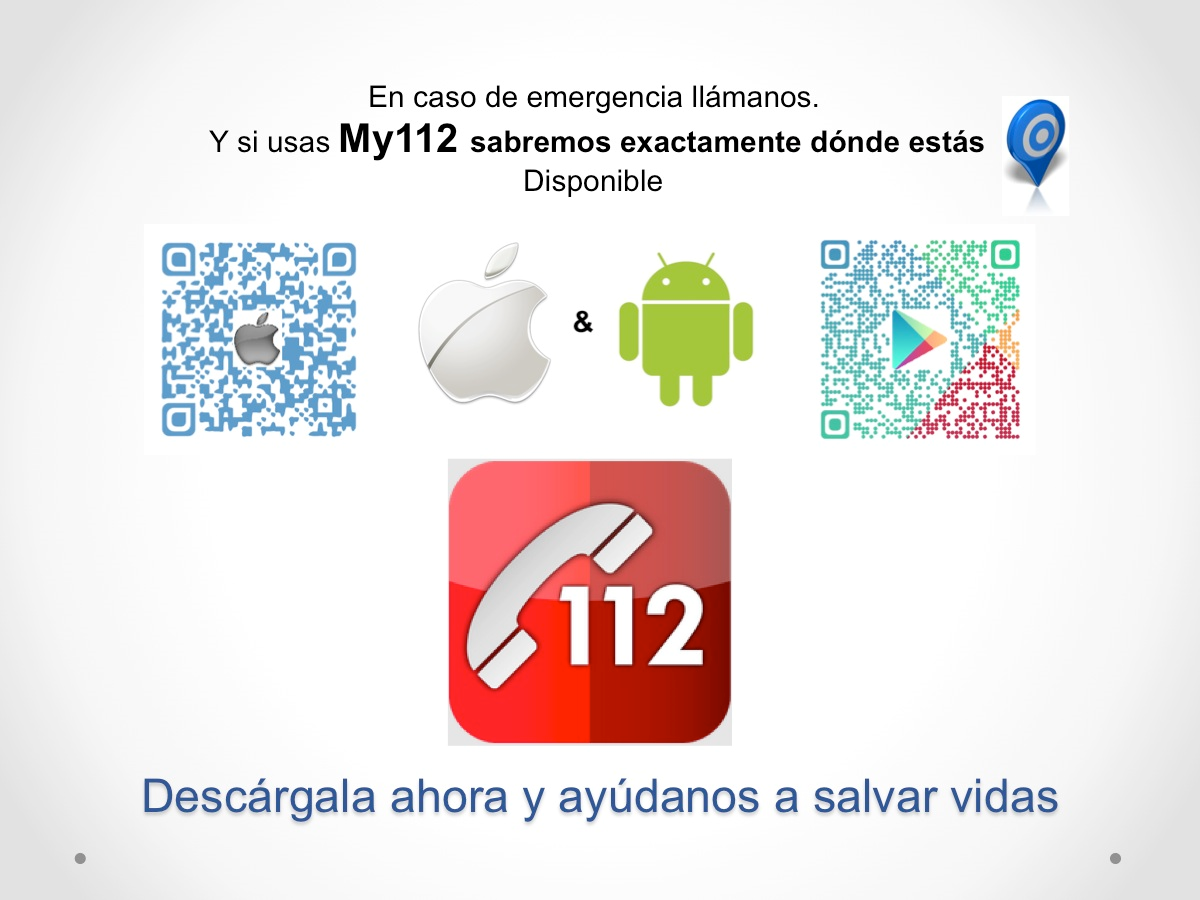 Ampa csb madrid my112 app para emergencias for Autoescuela colonia jardin