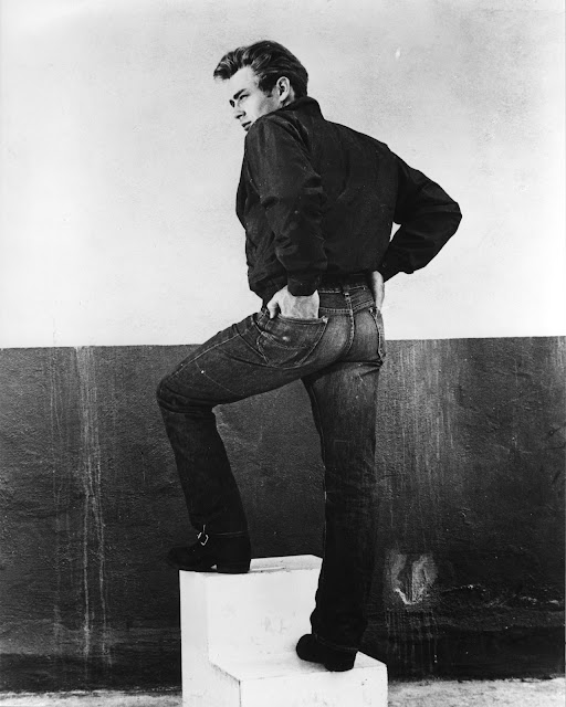 james dean de calça jeans lee 101