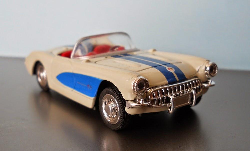 coche miniatura corvette
