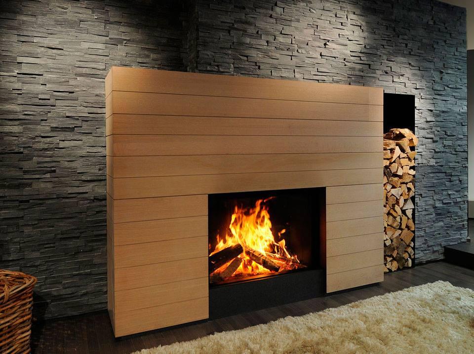 Design para lareiras modernas assuntos criativos - Chimeneas de pared ...