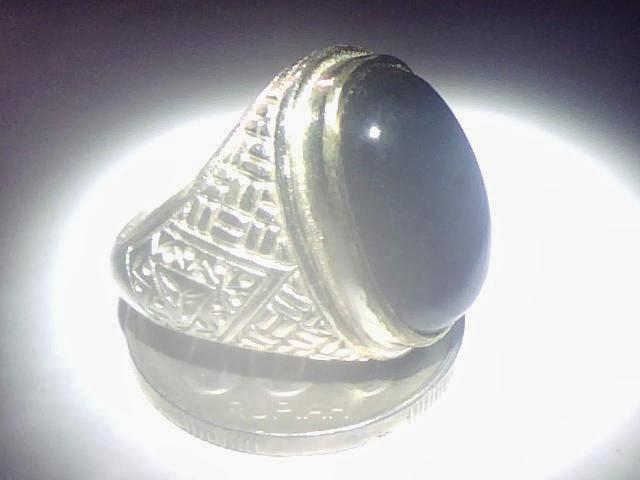Batu cincin bacan blue elektrik