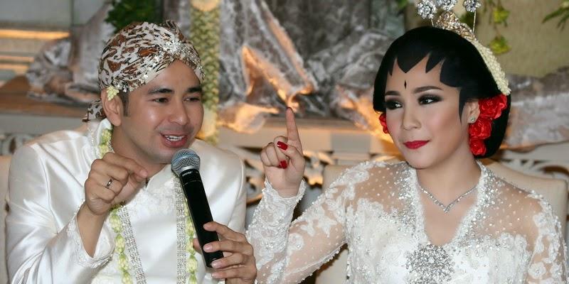 Foto Resepsi Raffi Ahmad Nagita Slavina 2014 Pernikahan Artis Indonesia