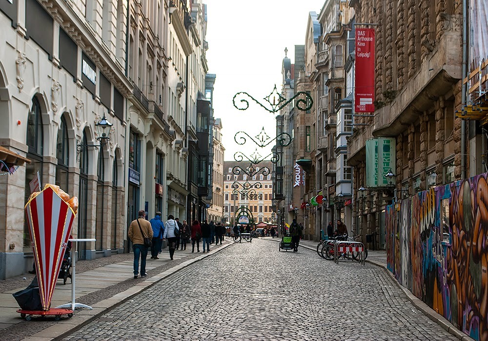 Leipzig Side street