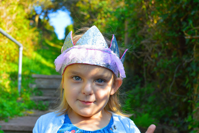Girl in Issa Crown