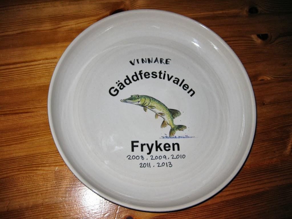 Vinnare Gäddfestivalen 2003, 2004, 2010, 2011, 2013