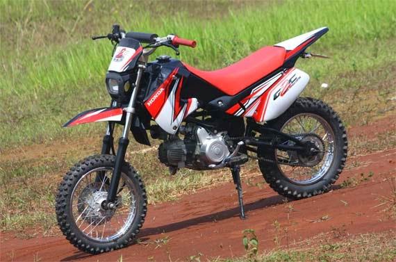 modifikasi motor trail honda win