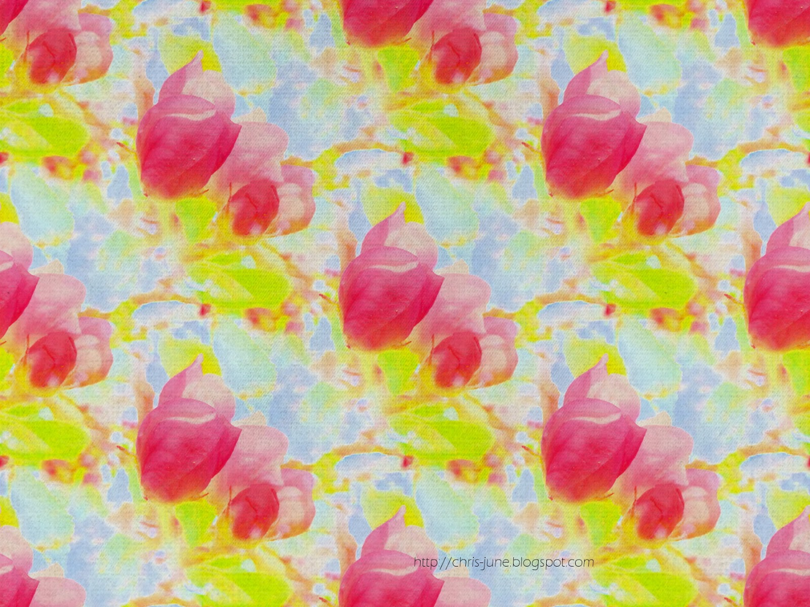 Apfelknospen-Muster