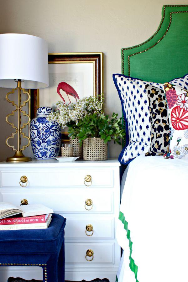 DIY, floral arrangement, Cane Webbing Vase