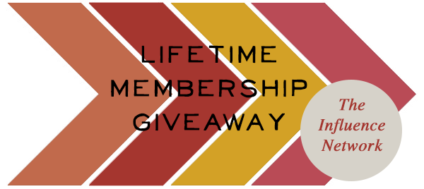 An Influence Network Membership Giveaway