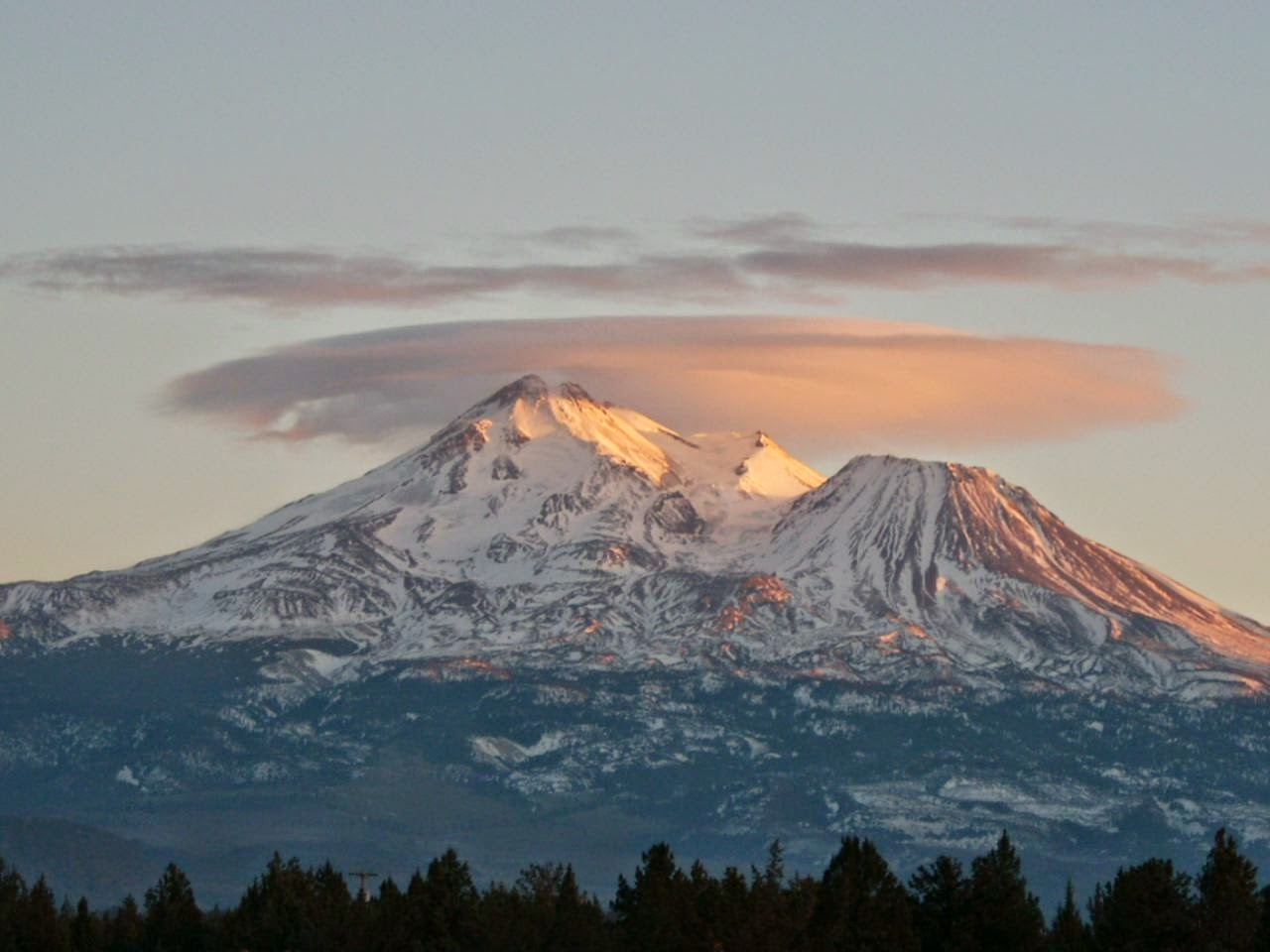 Mount Shasta:  Be Still and Know
