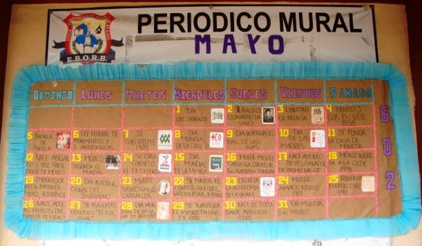 Escuela de bachilleres oficial de rio blanco periodico for El periodico mural