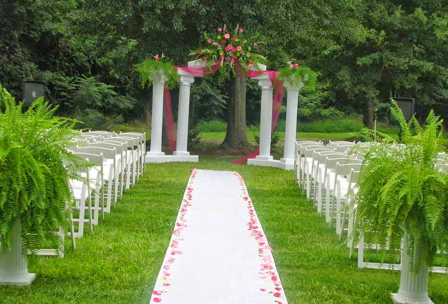 DIY Outdoor Evening Wedding Decoration Ideas pictures