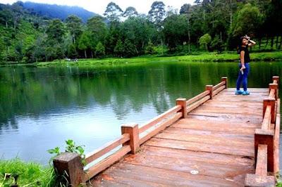 Situ Cisanti Wisata Alam Bandung Selatan