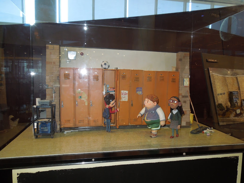 ParaNorman stopmotion model display