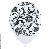 White_printed_balloons