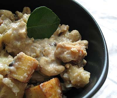 Massaman Curry with Paneer Cheese