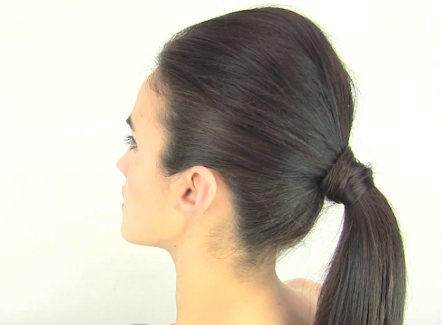 Peinados Coleta Con Volumen - PEINADO Coleta con volumen look inspirado en KIM KARDASHIAN