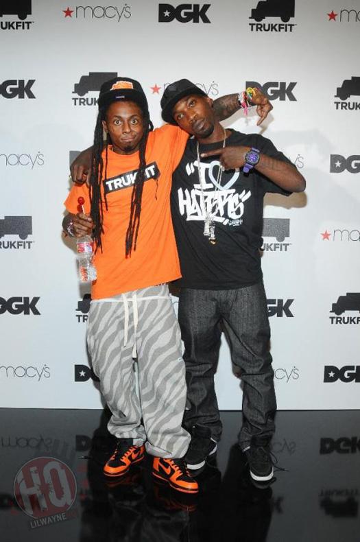Drake Trukfit Lil wayne launches trukfitLil Wayne Clothing Trukfit