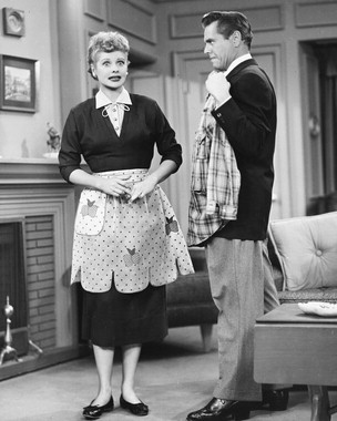 Love Lucy Pictures on Nancy S Monablog  To Be Father Knows Best Or I Love Lucy
