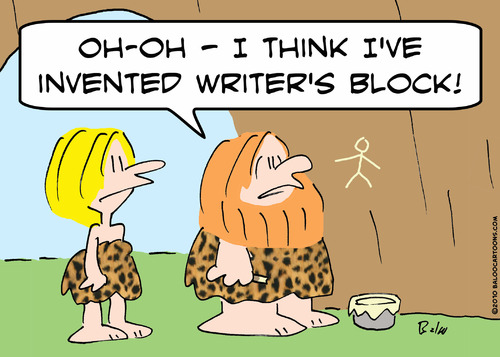 How do you get over writer's block?