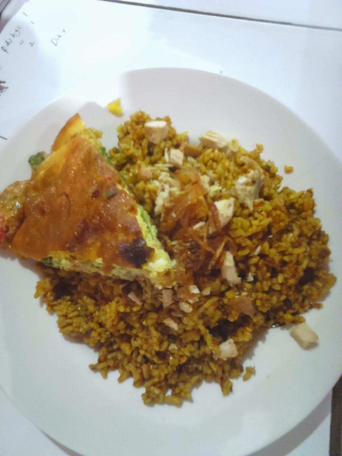 Nasi Goreng Padang Telur Ayam