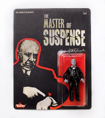 """The Master of Suspense"" Alfred Hitchcock Bootleg Resin Figure by Killer Bootlegs x Tyler Ham x The Adam X"