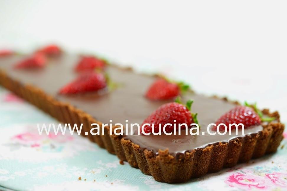 Blog di cucina di Aria: Tarte cioccolato e fragole: la differenza ...