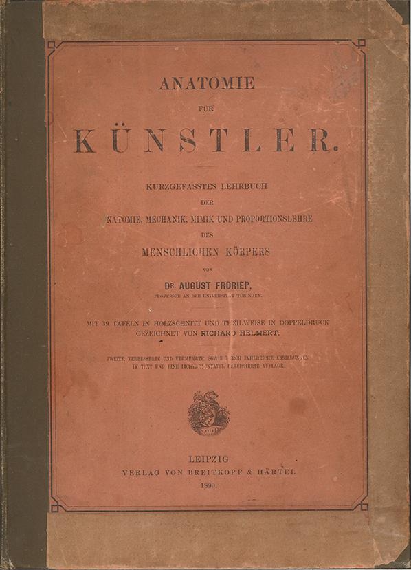 Künstler anatomie friedrich meyner1942 germany