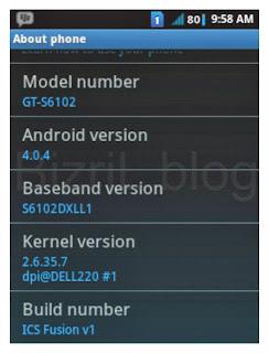 Samsung GT-S6102 d