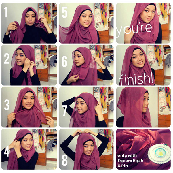 Download image Gallery Hijab Segitiga Modern PC, Android, iPhone and