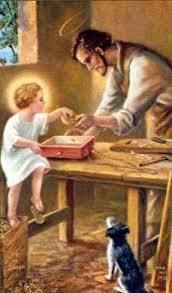 Jesus e o pai São José