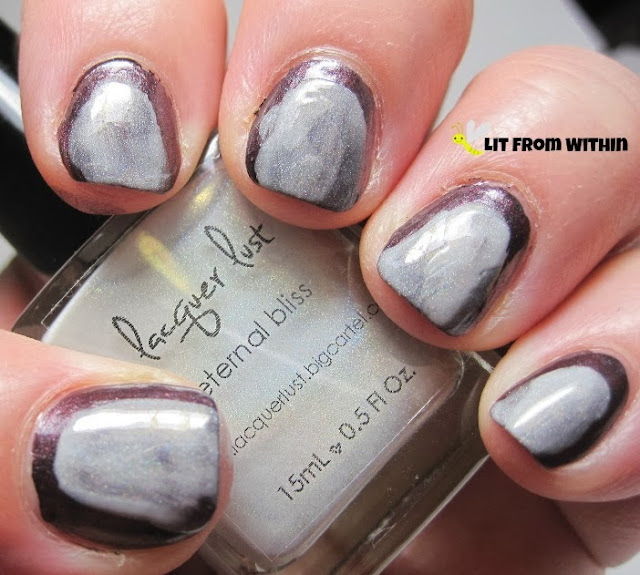 Lacquer Lust Eternal Bliss is translucent, giving it an ethereal look