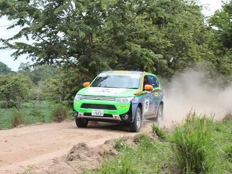 Mitsubishi Outlander The only Electric Cars on the Asia Cross Country Rally