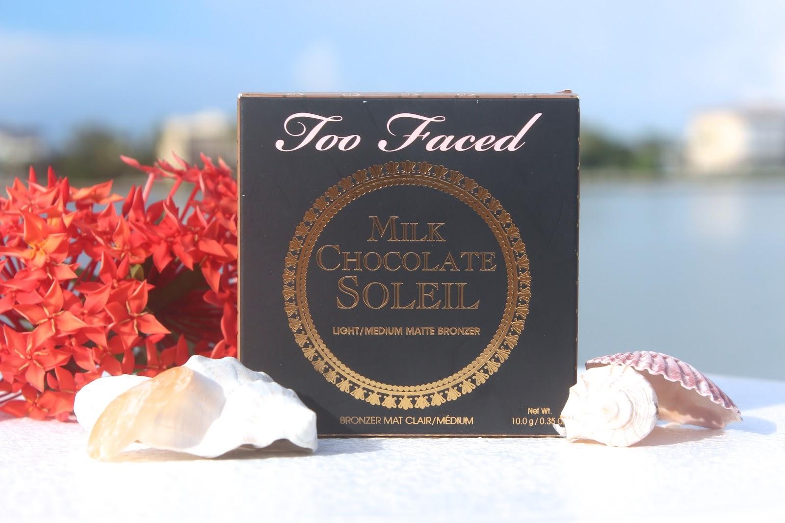 Too Faced Milk Chocolate Soliel