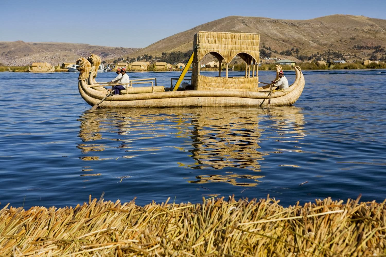 Titicaca-søen i Bolivia